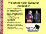 wisconsin indian education association