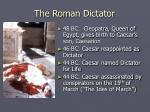the roman dictator