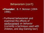 behaviorism con t39