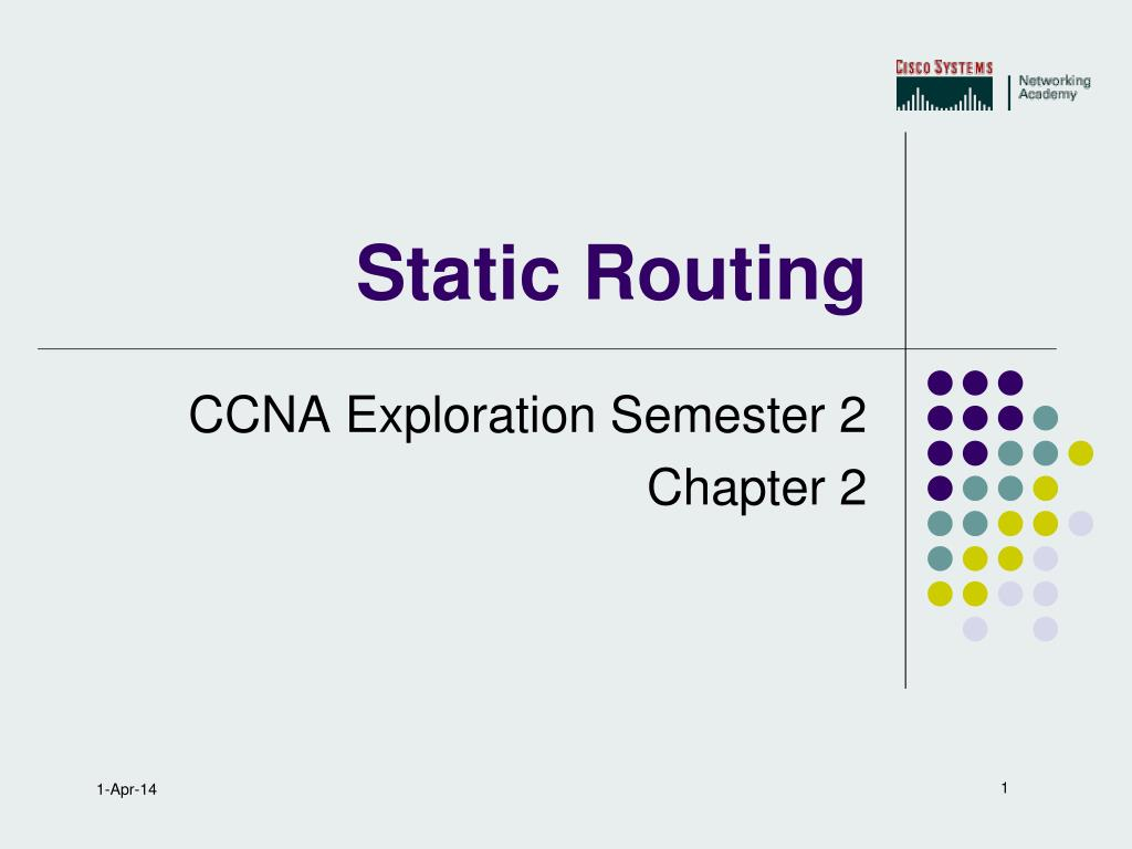 static routing l.
