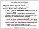 introduction to flight4