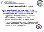 national disaster medical system21