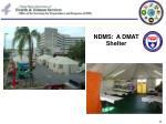 ndms a dmat shelter