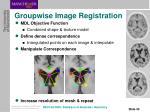 groupwise image registration