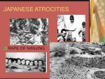 japanese atrocities