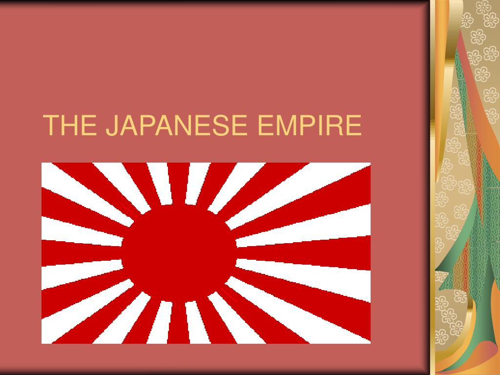 the japanese empire l.