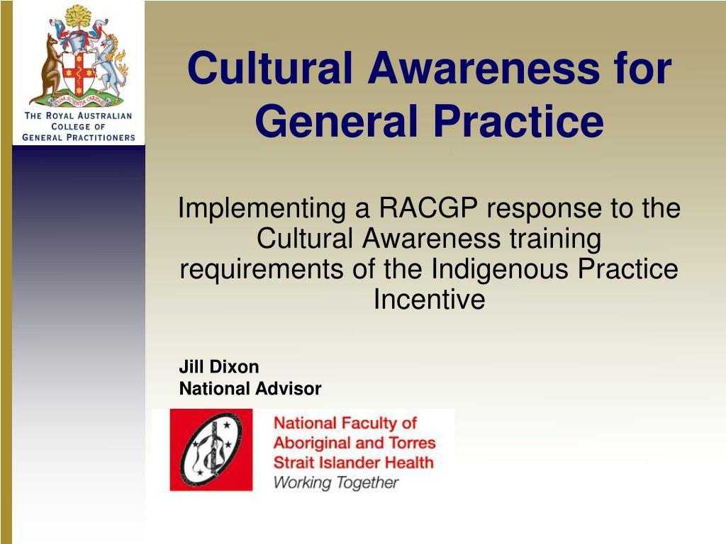 cultural awareness for general practice l.