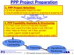 ppp project preparation