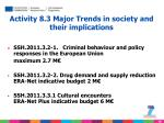 activity 8 3 major trends in society and their implications