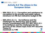 activity 8 5 the citizen in the european union