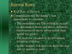 interest rates23