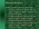 market efficiency13