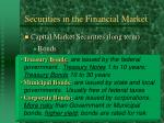 securities in the financial market18