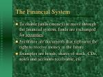 the financial system5