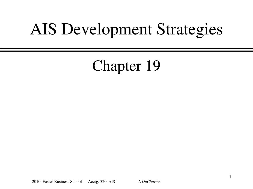 ais development strategies l.