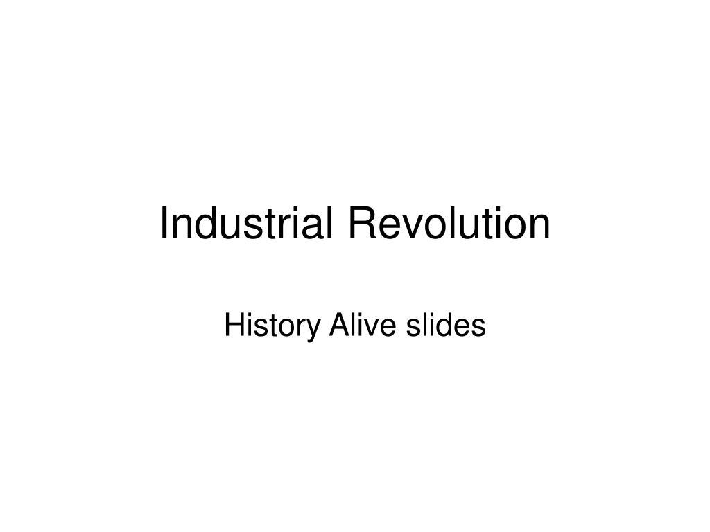 industrial revolution l.