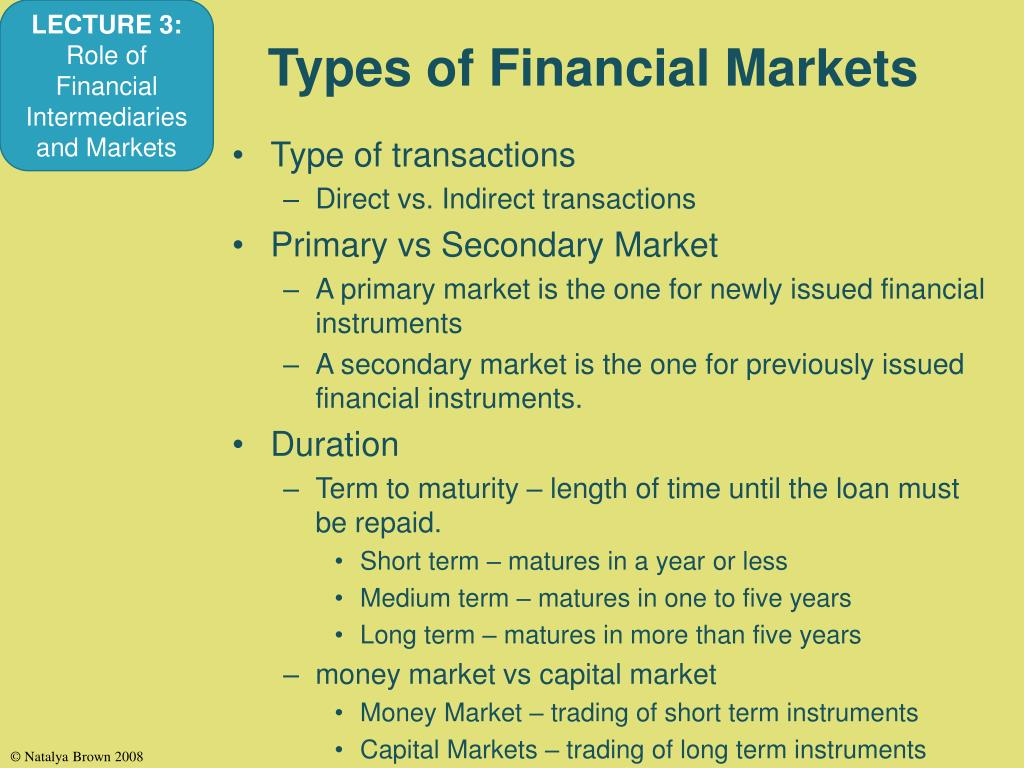 money markets vs capital markets The global integration of capital markets is at once a principal driver of  globalization  the financial action task force (fatf), to combat money  laundering and.
