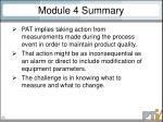 module 4 summary