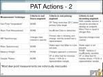 pat actions 2