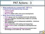pat actions 3