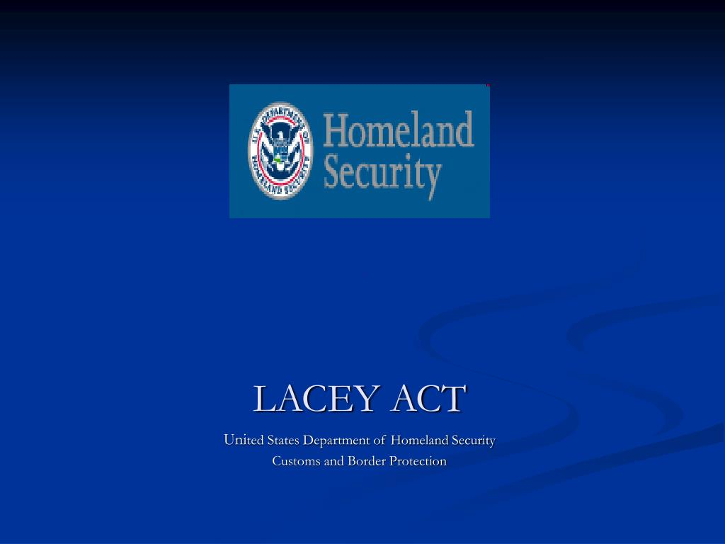 lacey act l.