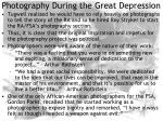 photography during the great depression15