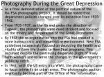 photography during the great depression16