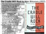 the cradle will rock by marc blitzstein 1937