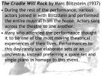 the cradle will rock by marc blitzstein 193728