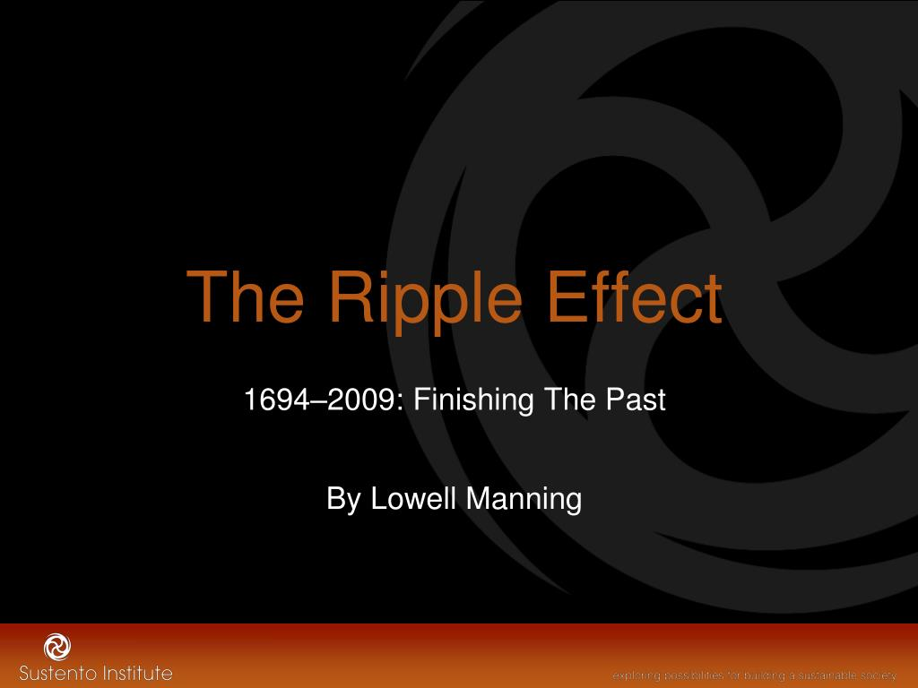 the ripple effect l.