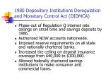 1980 depository institutions deregulation and monetary control act didmca