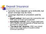 deposit insurance17