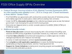 fssi office supply bpas overview
