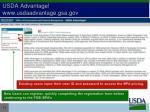 usda advantage www usdaadvantage gsa gov