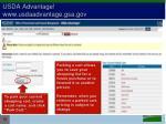 usda advantage www usdaadvantage gsa gov19