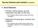 survey themes and content continued13