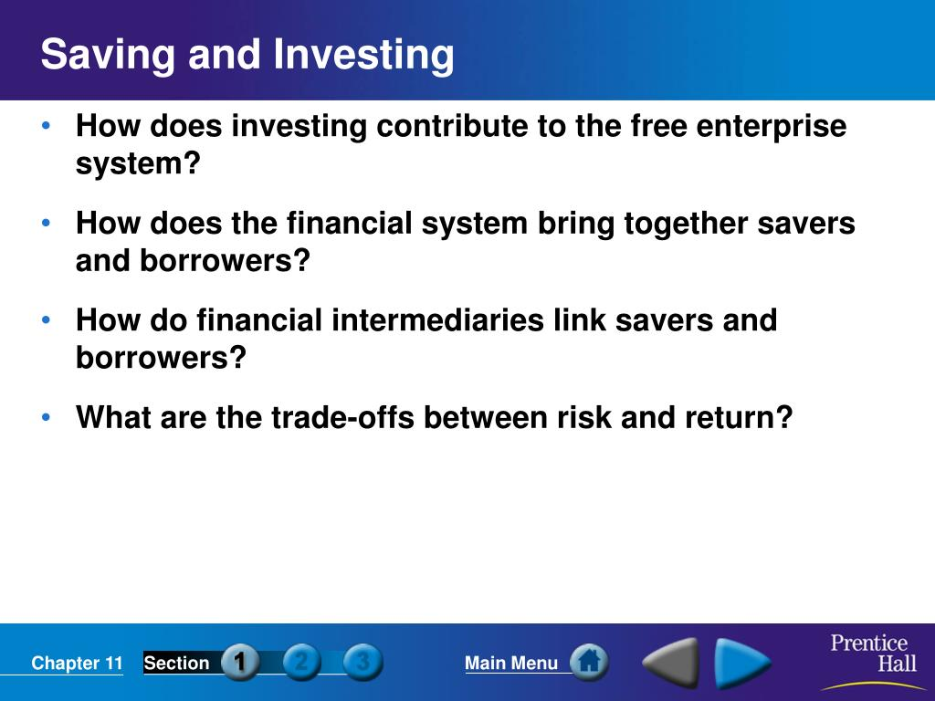 saving and investing l.