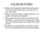 false pictures