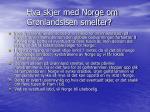 hva skjer med norge om gr nlandsisen smelter