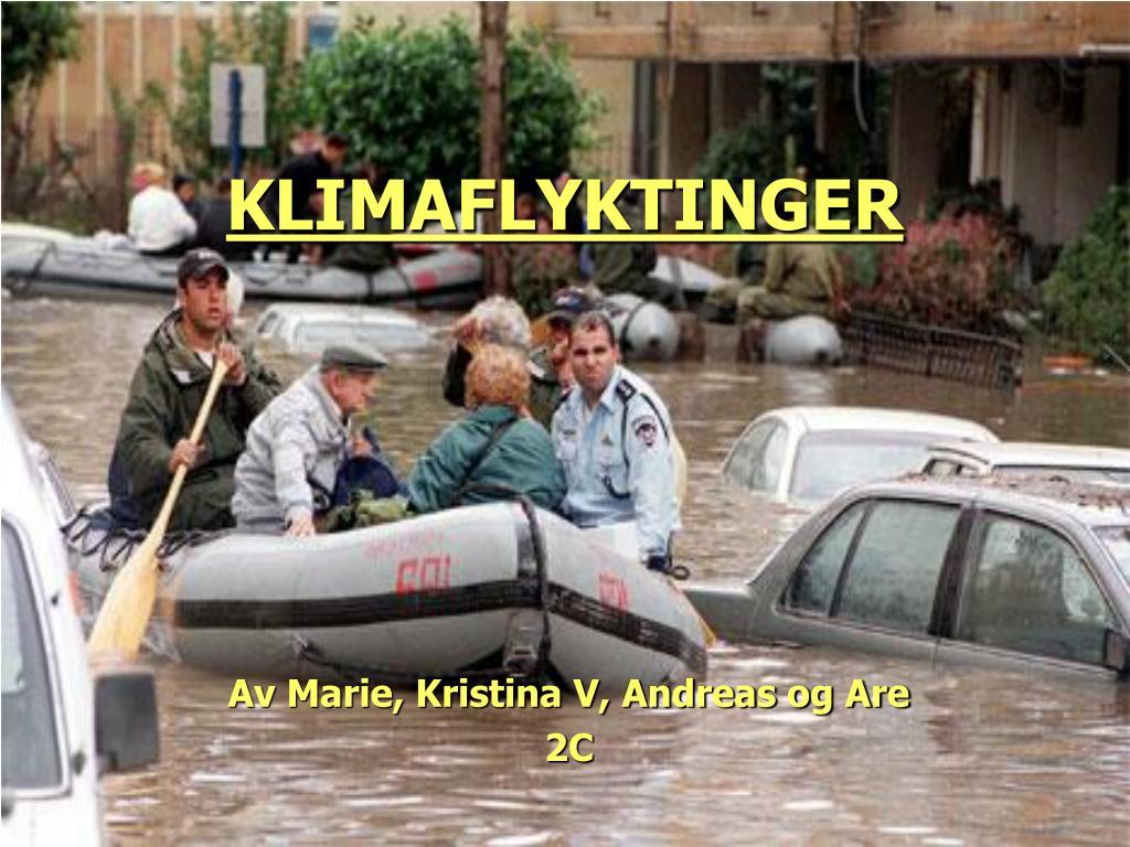 klimaflyktinger l.