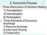 2 economic process