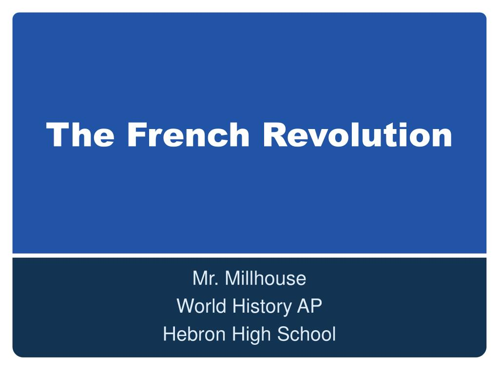 the french revolution l.