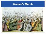 women s march