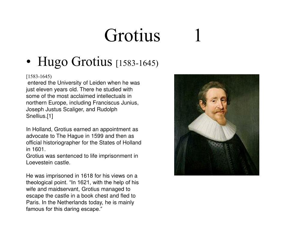 grotius 1 l.
