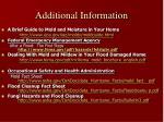 additional information27