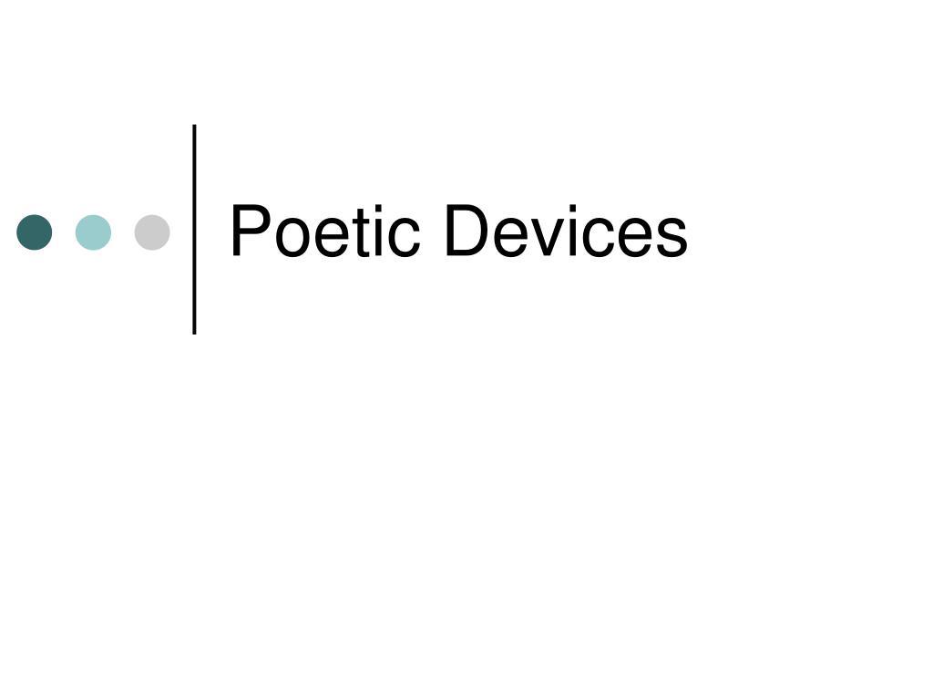 poetic devices l.