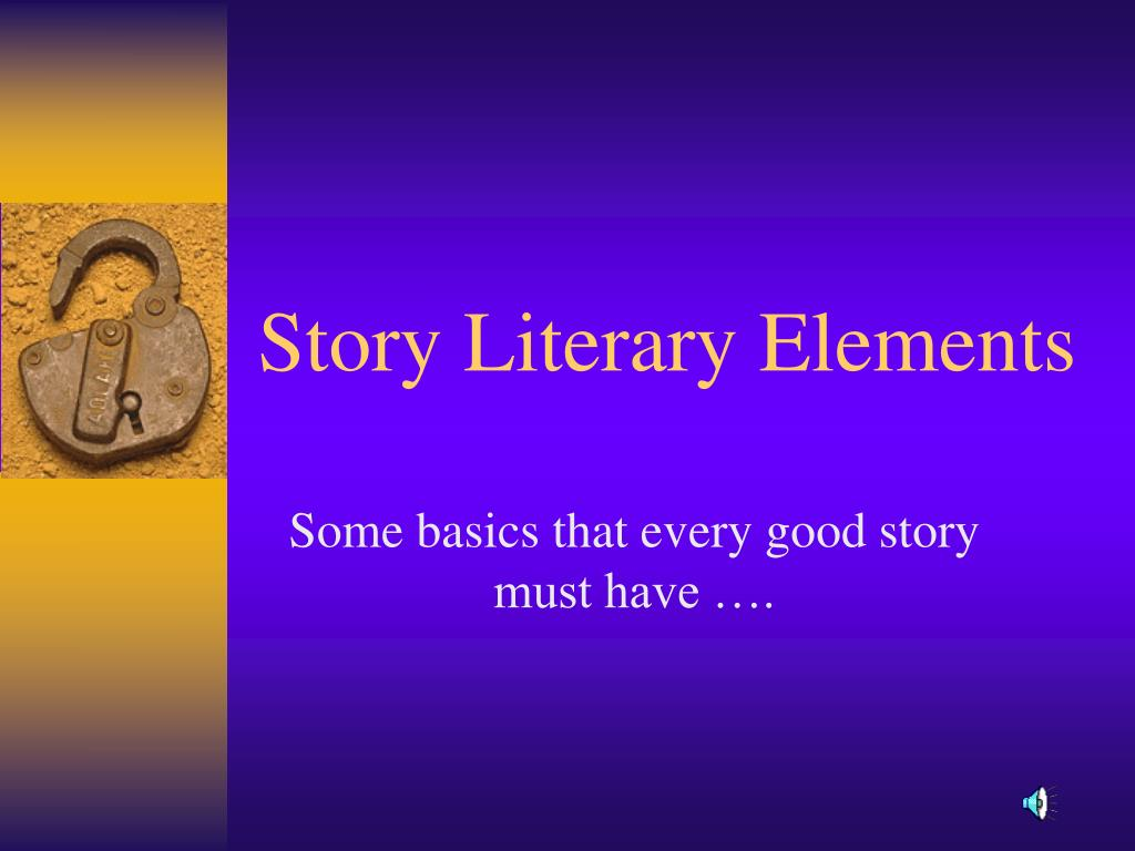 story literary elements l.