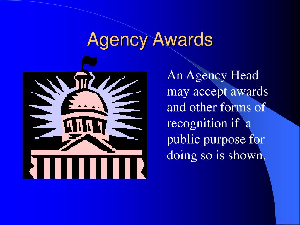 Agency Awards