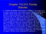 chapter 112 313 florida statutes10