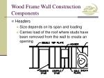 wood frame wall construction components6
